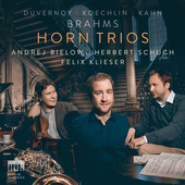 Album artwork for HORN TRIOS - Brahms, Koechlin, etc