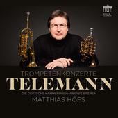 Album artwork for Telemann: Trumpet Concertos / Hofs