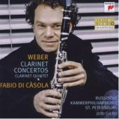 Album artwork for Weber: Clarinet Concertos / Clarinet Quintet