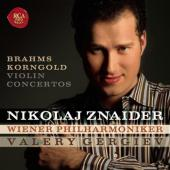 Album artwork for Brahms, Korngold: Violin Concertos / Znaider