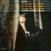 Album artwork for Bach: Partitas 3 & 4, Toccata / Glenn Gould