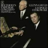 Album artwork for Beethoven: Emperor Concerto / Gould, Stokowski