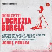 Album artwork for Donizetti: Lucrezia Borgia (Caballe, Verrett, Kra