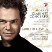 Album artwork for Mozart: Clarinet Concerto, Winds Sinfonia Concerta