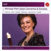 Album artwork for Michala Petri plays Concertos and Sonatas for Reco