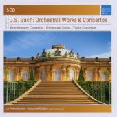 Album artwork for BACH: ORCHESTRAL WORKS & CONCERTOS
