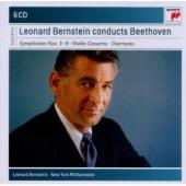 Album artwork for Leonard Bernstein - Beethoven Symphonies Nos. 1-9,