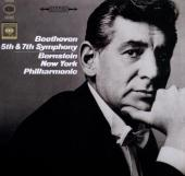 Album artwork for Beethoven: Symphonies Nos. 5 & 7 / Bernstein