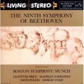 Album artwork for Beethoven: Symphony No. 9 / Munch, Boston Symph