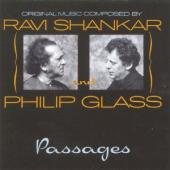 Album artwork for Ravi Shankar and Philip Glass: Passages