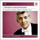 Album artwork for Leonard Bernstein conducts Bernstein