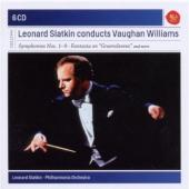 Album artwork for Vaughan Williams: Symphonies 1-9 / Slatkin