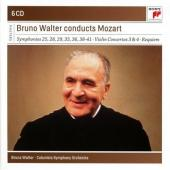 Album artwork for Bruno Walter conducts Mozart