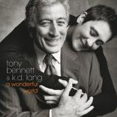 Album artwork for Tony Bennett & K.D. Lang - a wonderful world