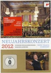 Album artwork for New Year's Concert 2012 / Vienna phil., Jansons