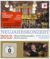 Album artwork for New Year's Concert 2012 / Vienna Phil, Jansons