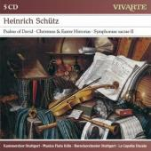 Album artwork for Schutz: Sacred Music / Bernius
