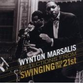 Album artwork for Wynton Marsalis Selections from Swingin into the 2