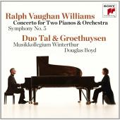 Album artwork for Vaughan Williams: Concerto for Two Pianos