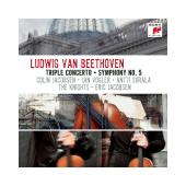 Album artwork for Beethoven: Triple Concerto / Symphony no. 5