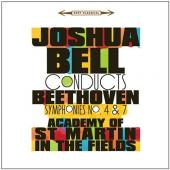 Album artwork for Beethoven: Symphonies no. 4 & 7 - Joshua Bell