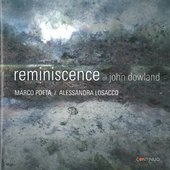 Album artwork for REMINISCENCE OF JOHN DOWLAND