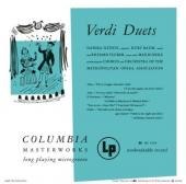 Album artwork for Verdi: Duets