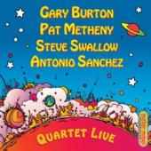 Album artwork for Burton, Metheny, Swallow, Sanchez: Quartet Live