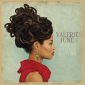 Album artwork for Valerie June: PUSHIN AGAINST A STONE
