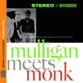 Album artwork for Gerry Mulligan: Mulligan Meets Monk