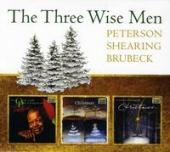 Album artwork for THE THREE WISE  MEN: Peterson, Shearing, Brubeck