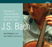 Album artwork for J.S. Bach: Sonatas for Viola da gamba & Harpsichor