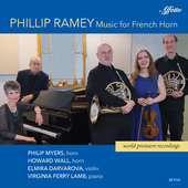 Album artwork for Phillip Ramey: Music for French Horn