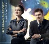 Album artwork for Ukrainian Rhapsody / anna & Dmitri Shelest