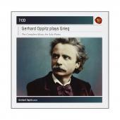 Album artwork for Gerhard Oppitz Plays Grieg