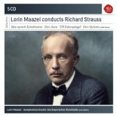 Album artwork for Lorin Maazel Conducts Strauss