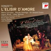 Album artwork for Donizetti: L'elisir d'amore / Domingo, Cotrubas,