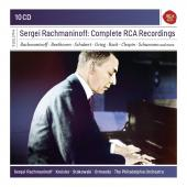 Album artwork for Sergei Rachmaninoff: Complete RCA Recordings