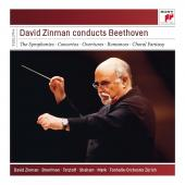 Album artwork for David Zinman Conducts Beethoven