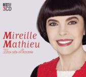 Album artwork for MIREILLE MATHIEU - UNE VIE D'AMOUR