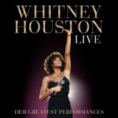 Album artwork for WHITNEY HOUSTON LIVE: HER GREATEST PERFORMANCES