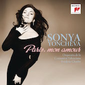Album artwork for Paris, mon amour / Sonya Yoncheva