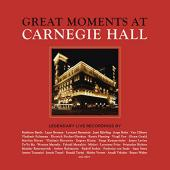 Album artwork for Great Moments at Carnegie Hall
