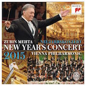 Album artwork for New Years Concert 2015 / Vienna Phil, Mehta