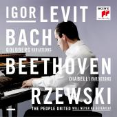 Album artwork for BACH /  BEETHOVEN / RZEWSKI - Igor Levit