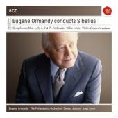 Album artwork for EUGENE ORMANDY CONDUCTS SIBELIUS