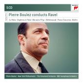 Album artwork for PIERRE BOULEZ CONDUCTS RAVEL