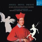 Album artwork for Angel Devil Priest - Violin concertos by Locatelli