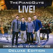 Album artwork for The Piano Guys - LIVE! (deluxe edition)