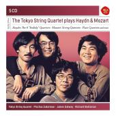 Album artwork for TOKYO QUARTET PLAYS HAYDN & MOZART